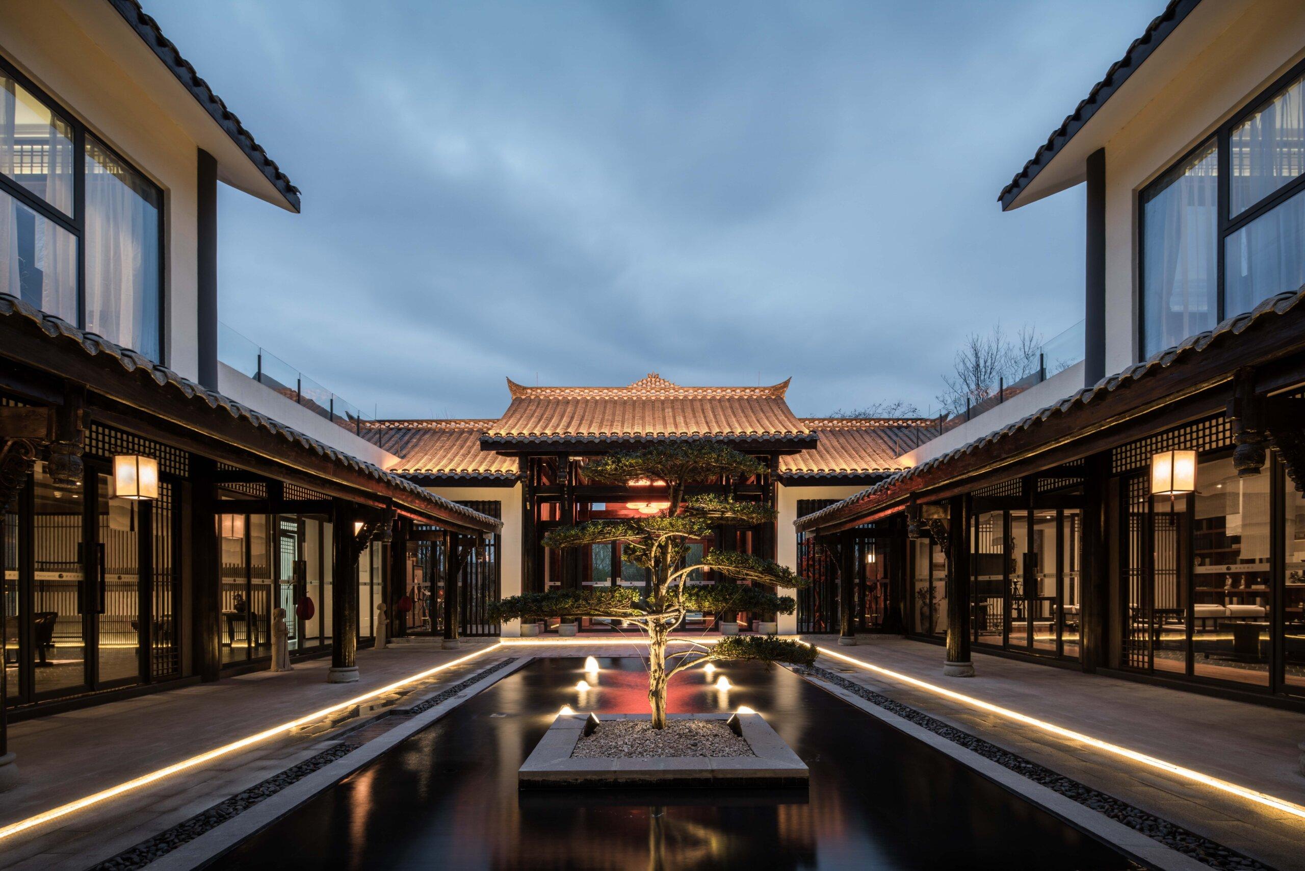 2中庭景观水池