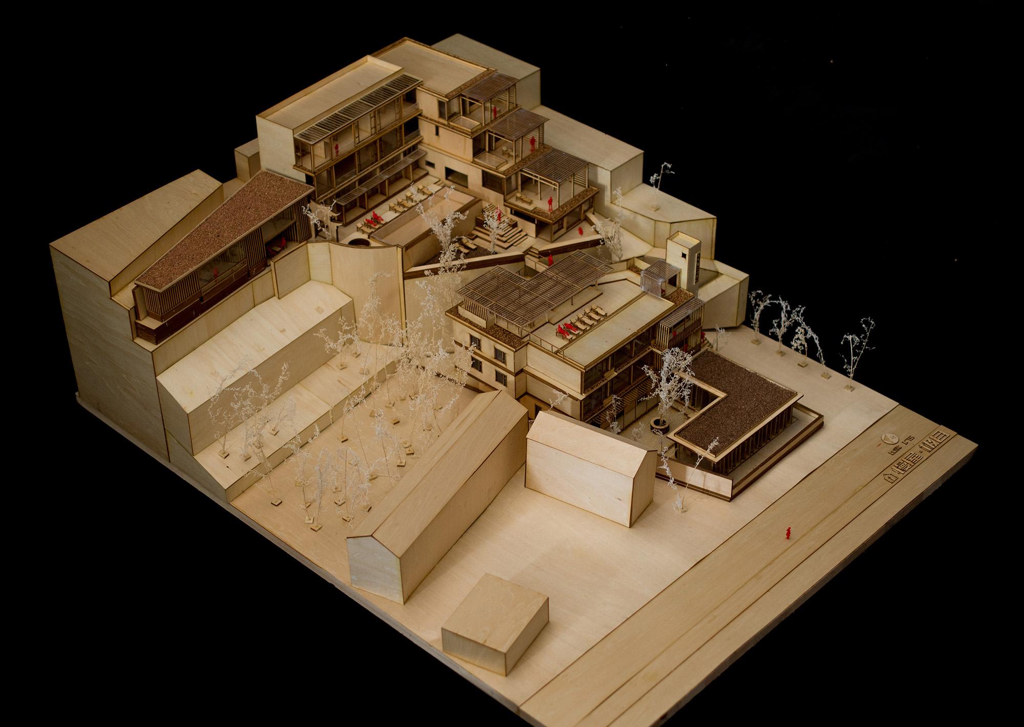 0-模型照片2 ©IDO元象建筑