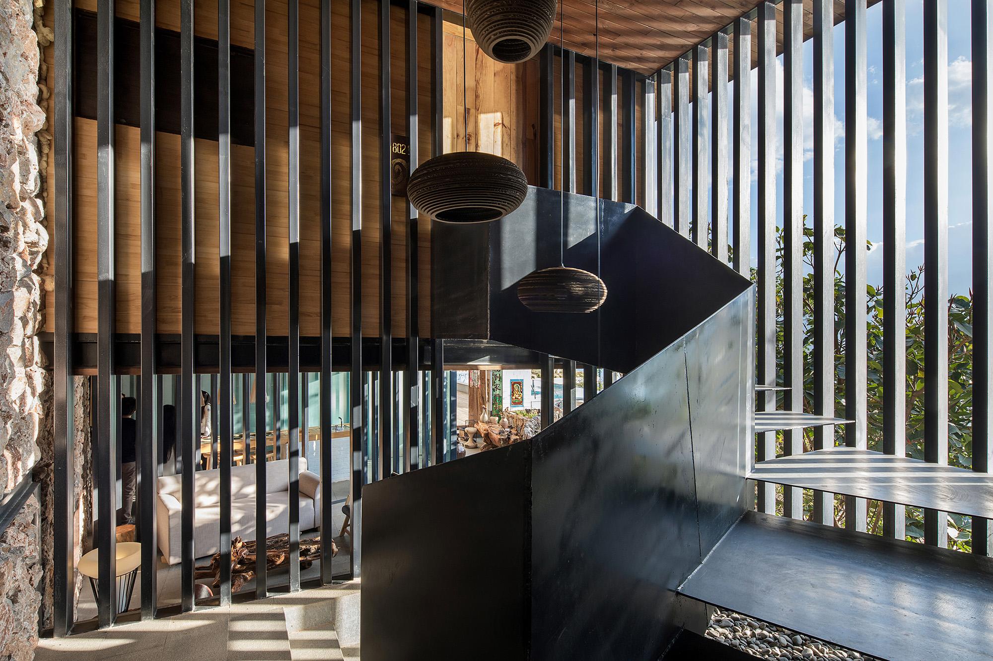 13 小钢屋公共楼梯(存在建筑—建筑摄影)