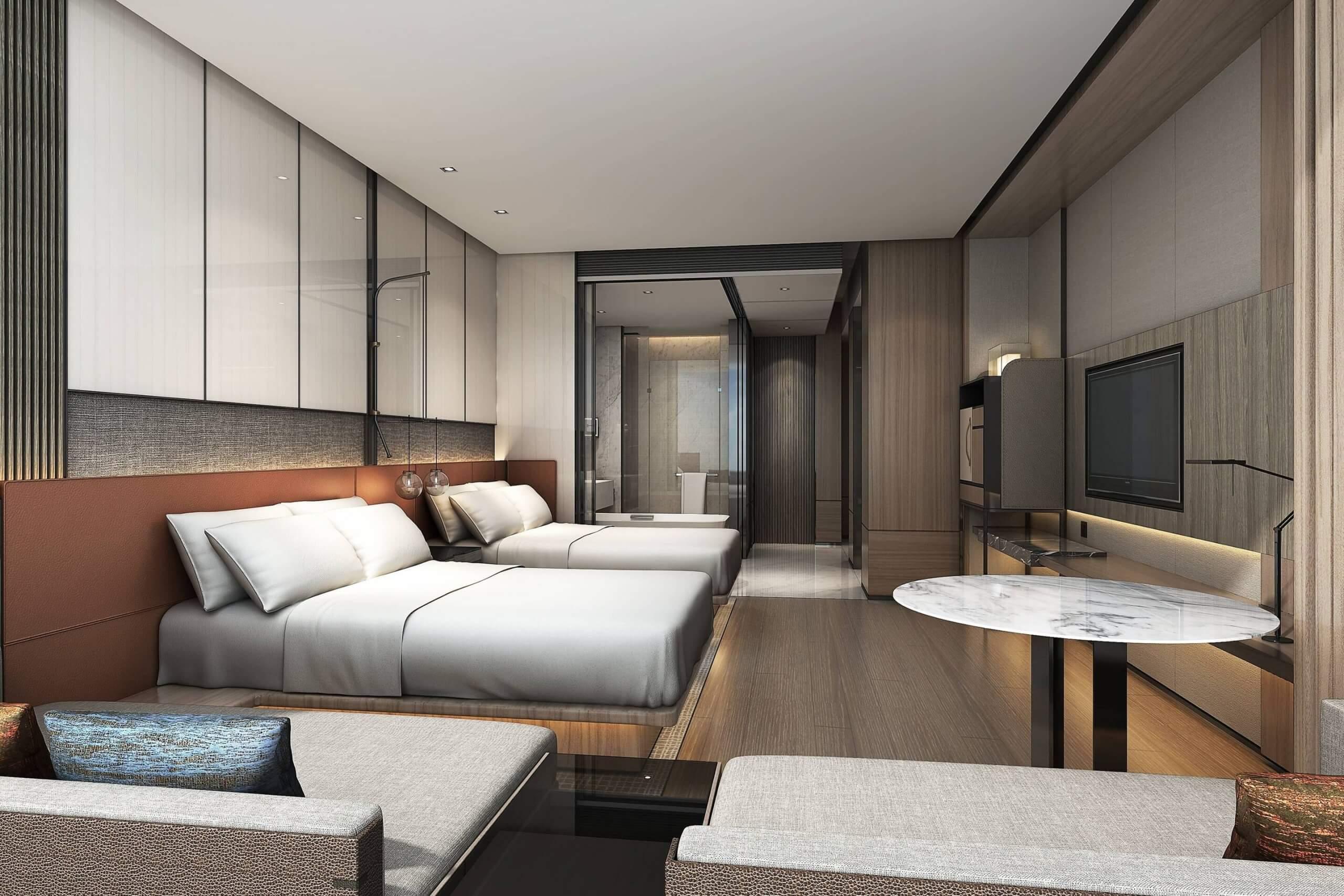 Twin Deluxe Guest Room
